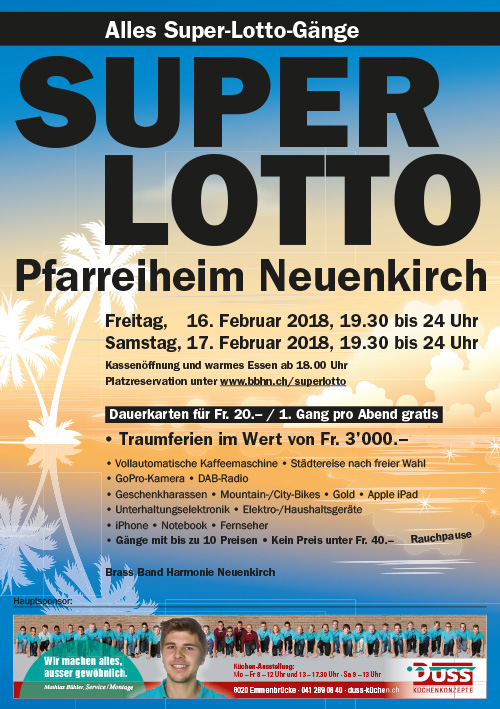 Flyer Lotto